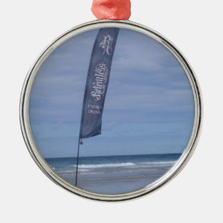 Boardmasters Surf Festival 2013 Silver-Colored Round Decoration