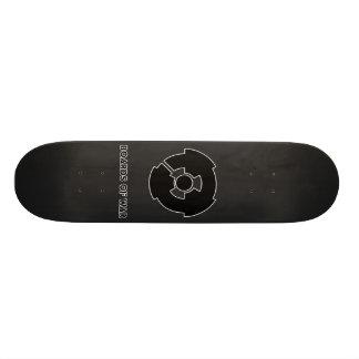 Boards Of War Grey Nuke Logo Deck Skate Board