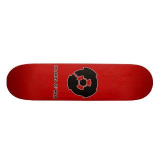 Boards Of War Red Nuke Logo Deck Skate Boards