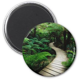 Boardwalk 6 Cm Round Magnet