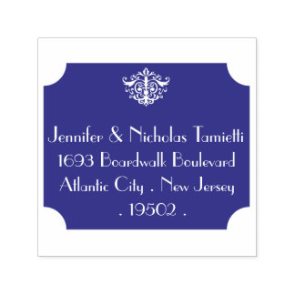 Boardwalk Elegance Return Address Stamp - Self Ink