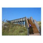 Boardwalk, Florida, Cape San Bur beach picture Custom Invitation