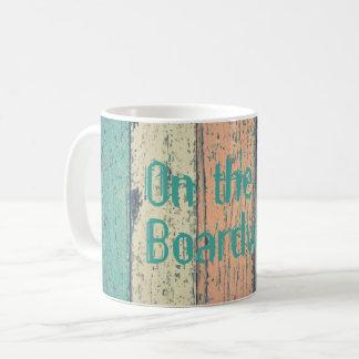 Boardwalk, hibiscus mug