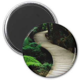 Boardwalk Fridge Magnet