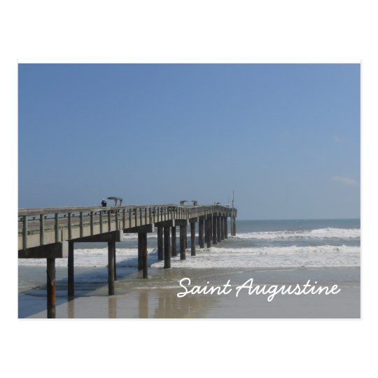 Boardwalk, St. Augustine, Florida Postcard