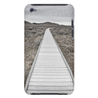 Boardwalk through the desert barely there iPod covers