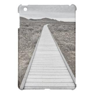 Boardwalk through the desert iPad mini cover