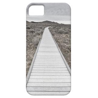 Boardwalk through the desert iPhone 5 case
