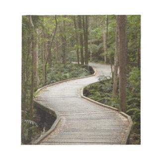 Boardwalk to Nelson Falls, Franklin - Gordon Memo Note Pad