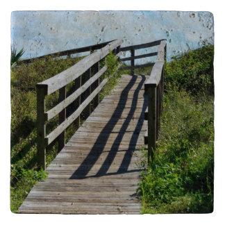Boardwalk to the Beach Trivet