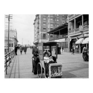 Boardwalk Transport: 1905 Postcards