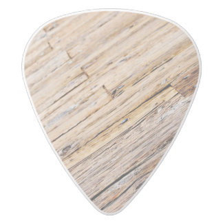 Boardwalk White Delrin Guitar Pick