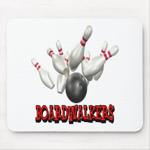 Boardwalkers Bowling Mousepad