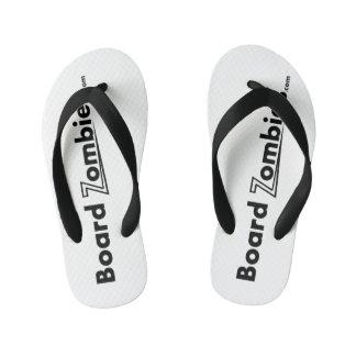 BoardZombies Flip Flop Black White Foot Wear Flip Flops