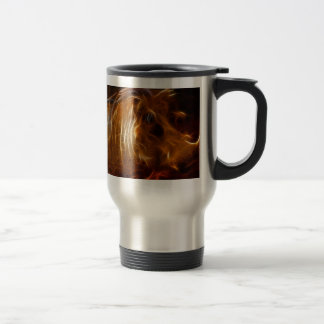 Boars beauty in the beast stainless steel travel mug