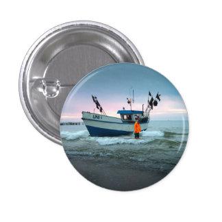 boat 3 cm round badge