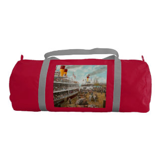 Boat - A vacation to remember - 1901 Gym Duffel Bag