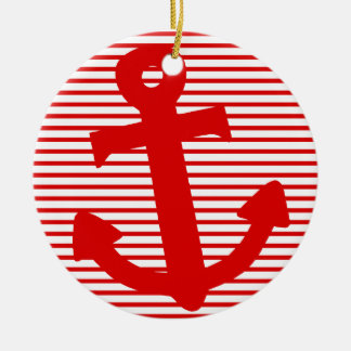 Boat Anchor Christmas Ornament