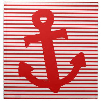Boat Anchor Napkin