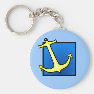 Boat Anchor Nautical Key Ring
