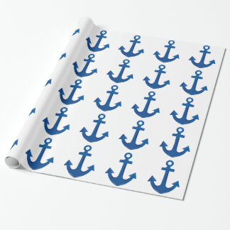 Boat Anchor Wrapping Paper