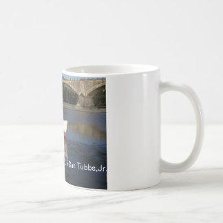 Boat and Bridge Coffee Mug