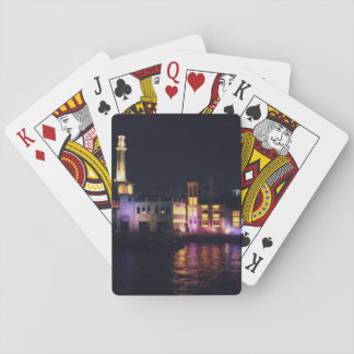 Boat and Lights Playing Cards