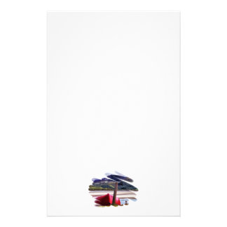 BOAT AND MOUNTAIN LANDSCAPE STATIONERY