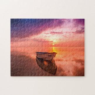 Boat at Anchor. Jigsaw Puzzle