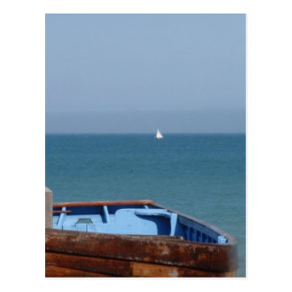 Boat At Deal Post Cards