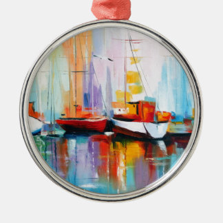 Boat berth christmas ornament