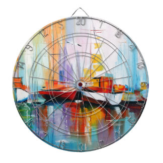 Boat berth dartboard