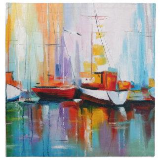 Boat berth napkin