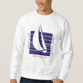 Boat Blue Square_UpDown Perth t-shirt
