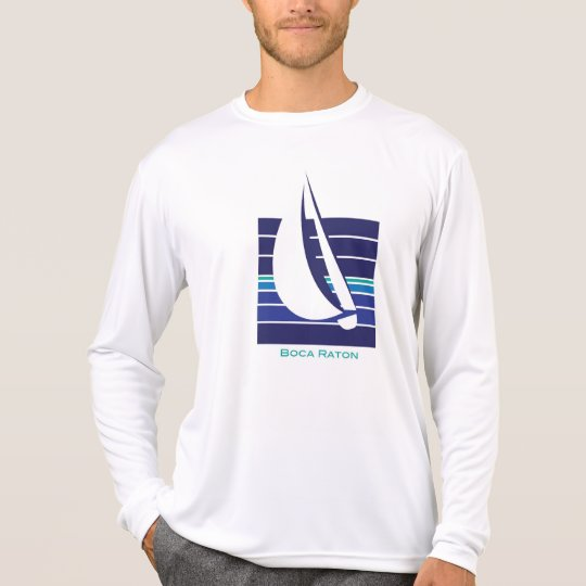 Boat Blues Square_Boca Raton t-shirt