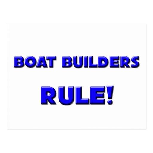 Boat Builders Rule! Post Card