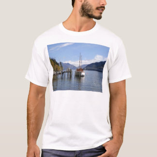 Boat by Harbour T-Shirt