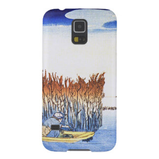 Boat by the Reeds Japanese Woodblock Art Ukiyo-E Samsung Galaxy Nexus Cases