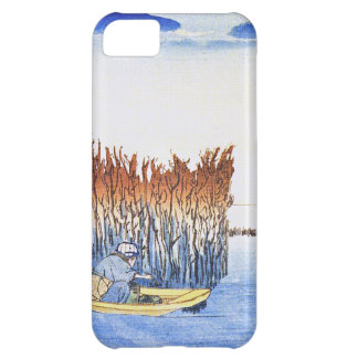 Boat by the Reeds Japanese Woodblock Art Ukiyo-E iPhone 5C Case