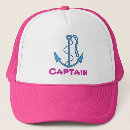 Boat Captain Baseball Cap
