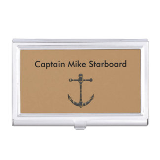 Boat Captain Business Card Case