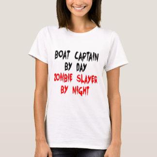 Boat Captain Zombie Slayer T-Shirt