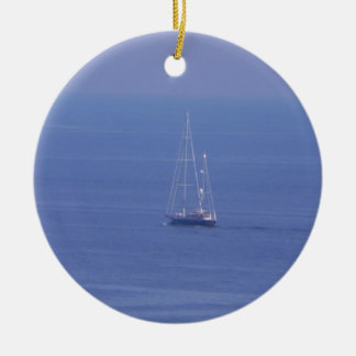 Boat Christmas Ornament