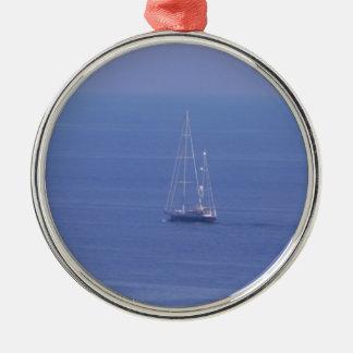 Boat Christmas Ornament