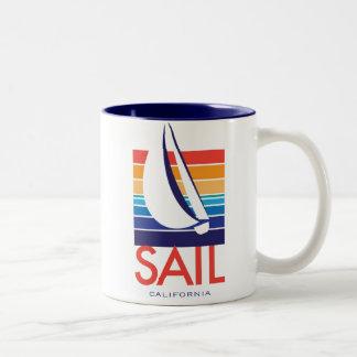 Boat Color Square_SAIL California mug