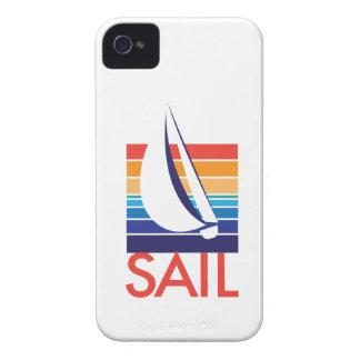 Boat Color Square_Sail iPhone 4 Case