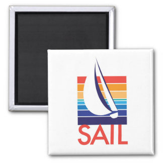 Boat Color Square_Sail magnet