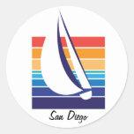 Boat Colour Square_San Diego stickers