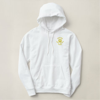 Boat crew embroidered hoodie