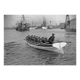 Boat Crew Poster
